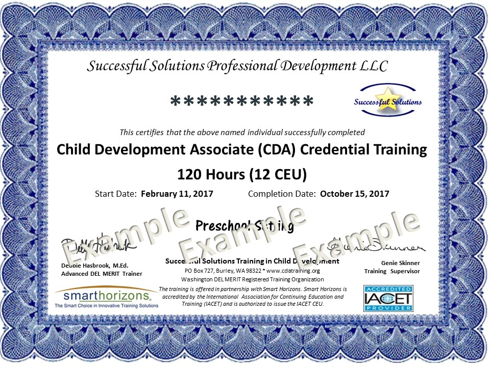 Example cda training certificate successful solutions training example cda training certificate successful solutions training in child development yelopaper Choice Image