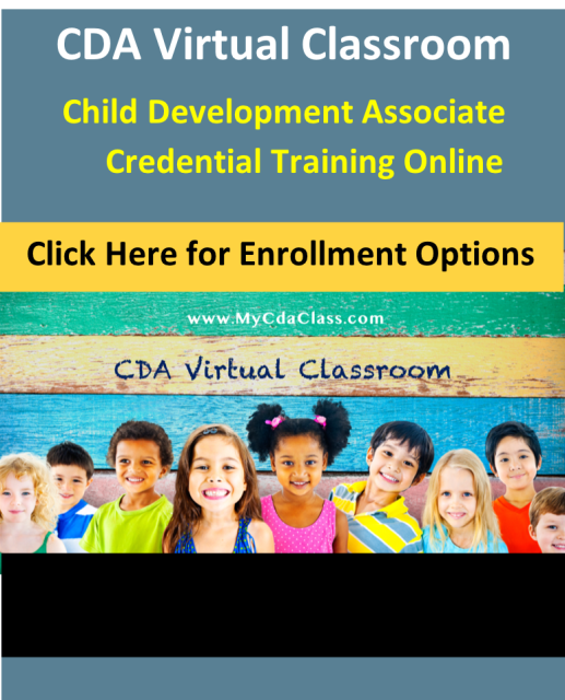 child care certificate, cda training online