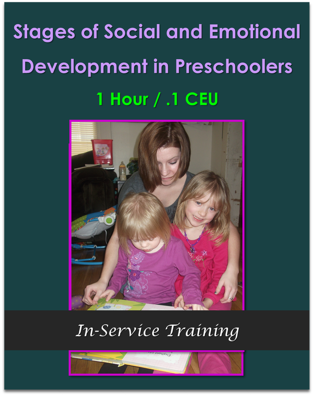 Stages of Social and Emotional Development in Preschoolers 1 hour / .1 CEU  $10.50