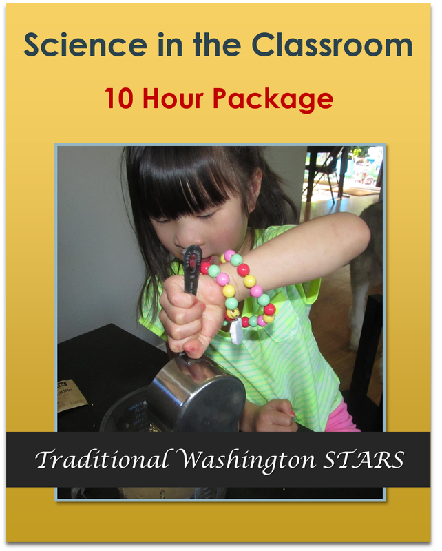 Science in the Classroom - 10 Hours Traditional STARS  $85.00