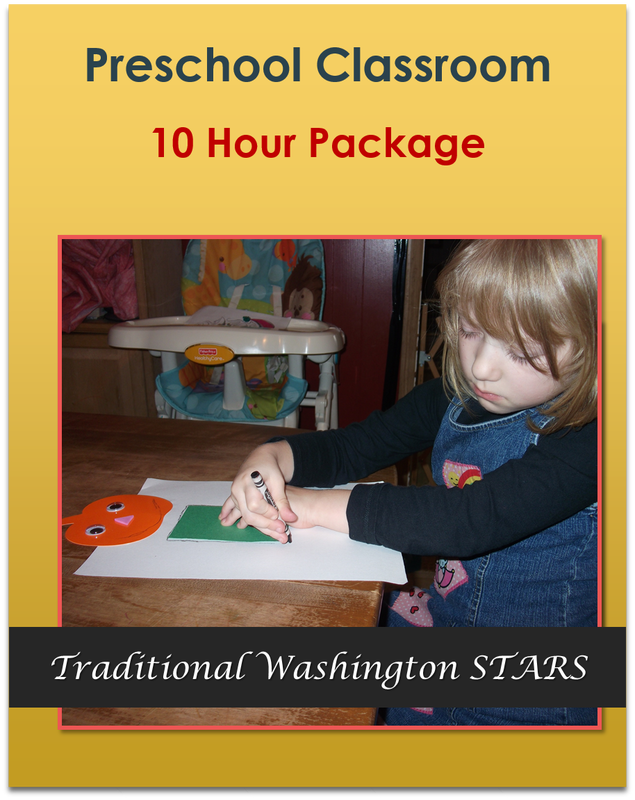 Preschool Classroom 10 Hours Traditional STARS $85.00
