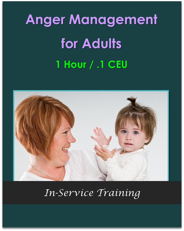 Anger Management for Adults (1 hour / .1 CEU) $10.50