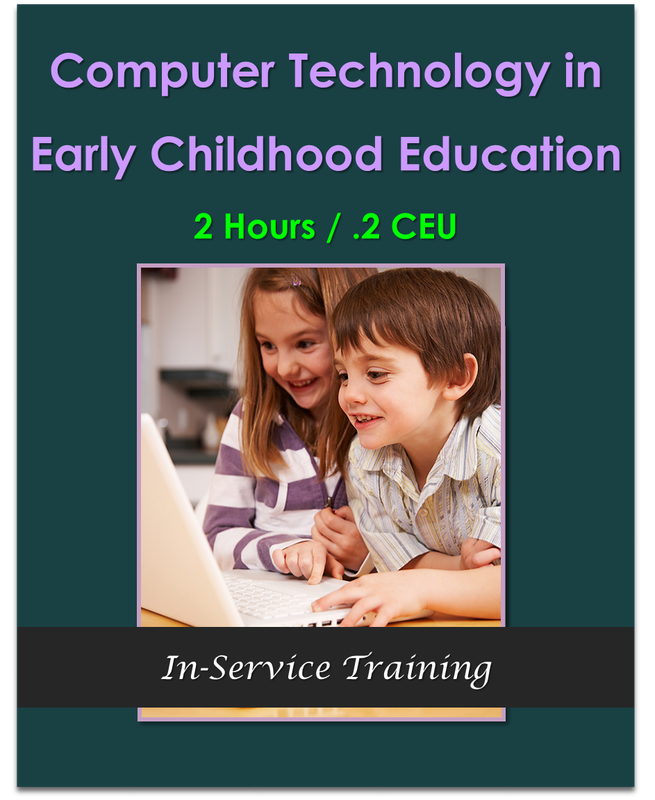 Computer Technology in Early Childhood Education 2 hours / .2 CEU $21.00