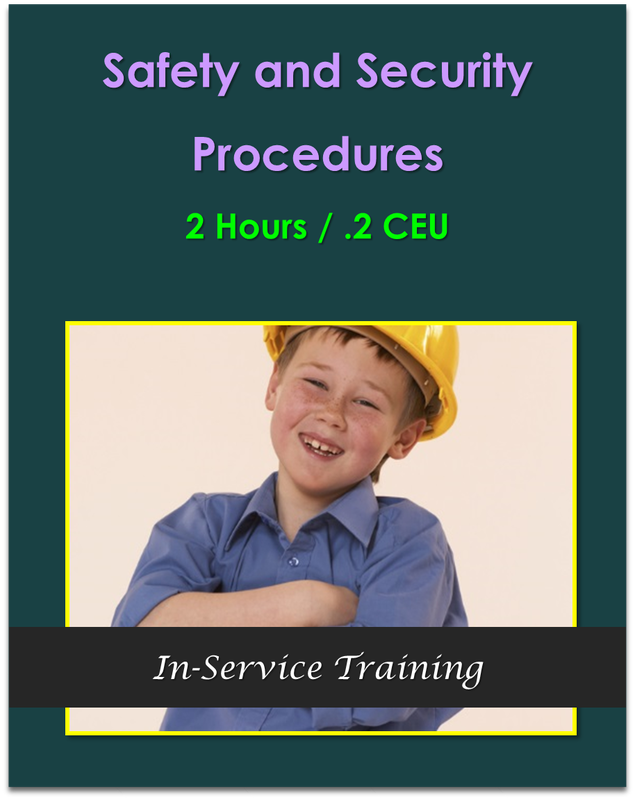 Safety and Security Procedures 2 hours / .2 CEU  $21.00