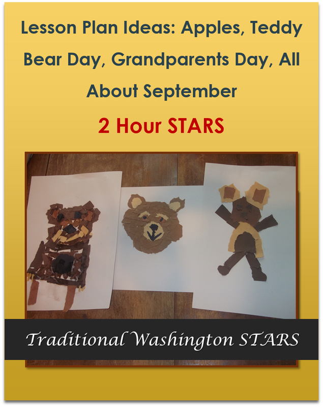 Lesson Plan Ideas: Apples, Teddy Bear Day, Grandparents Day, All About September 2 hours $19.00