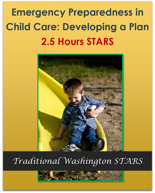 Emergency Preparedness in Child Care: Developing a Plan 2.5 hours $23.75