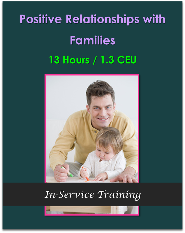 CDA Module 6: Positive Relationships with Families $130.00