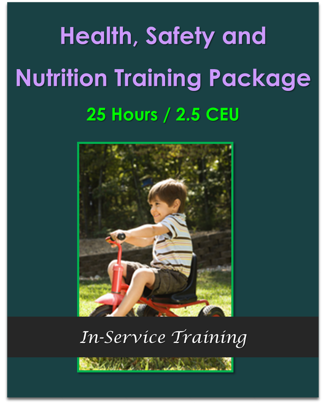 25 Hours Health Safety and Nutrition Training Package