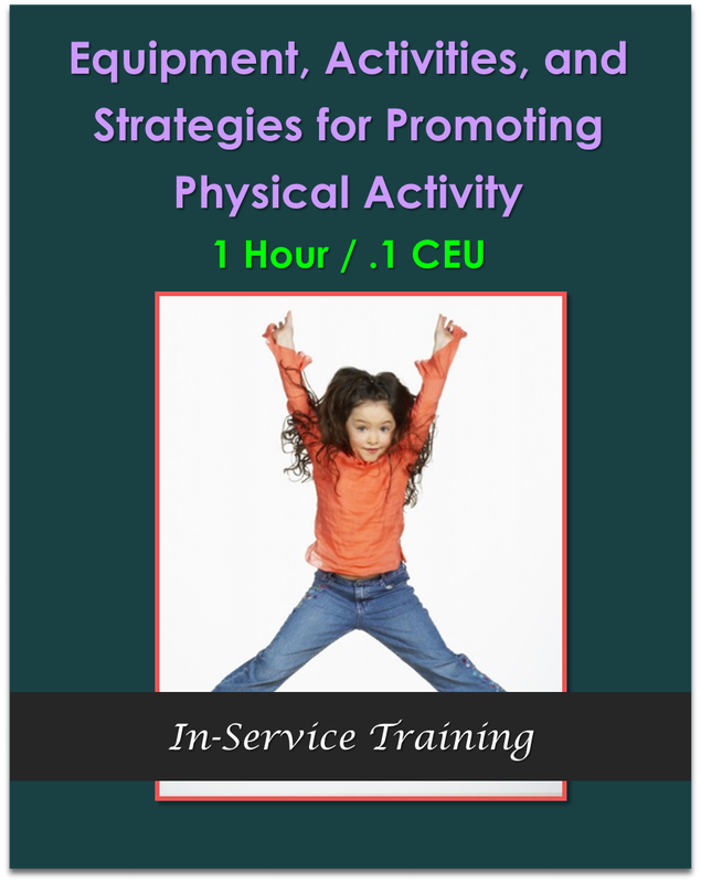 Equipment, Activities, and Strategies for Promoting Physical Activity 1 hour / .1 CEU $10.50