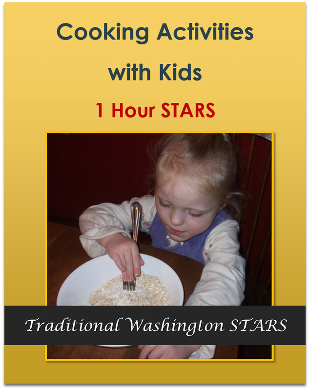 Cooking Activities with Kids - 1 hour   $9.50
