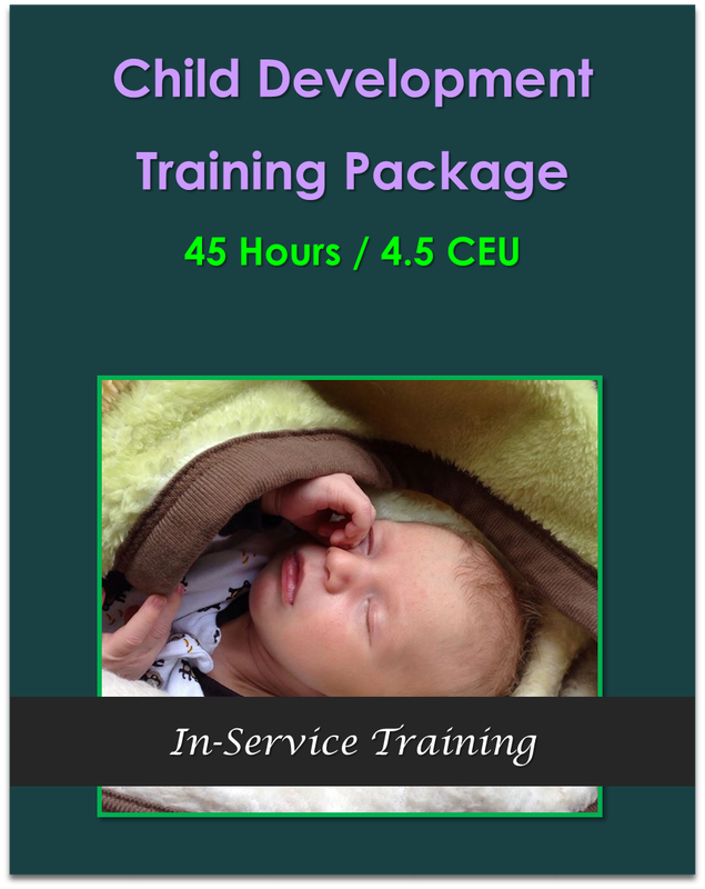 Child Development Training Package 45 Hours $225.00