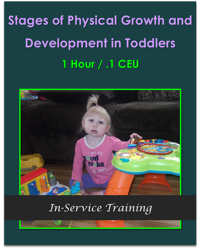 Stages of Physical Growth and Development in Toddlers 1 hour / .1 CEU  $10.50