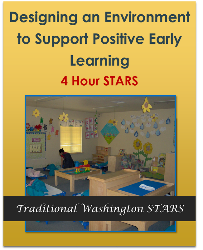 Designing an Environment to Support Positive Early Learning 4 hours  $38.00