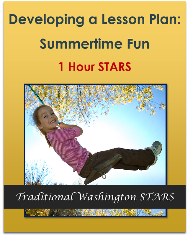 Developing a Lesson Plan: Summertime Fun - 1 hour $9.50