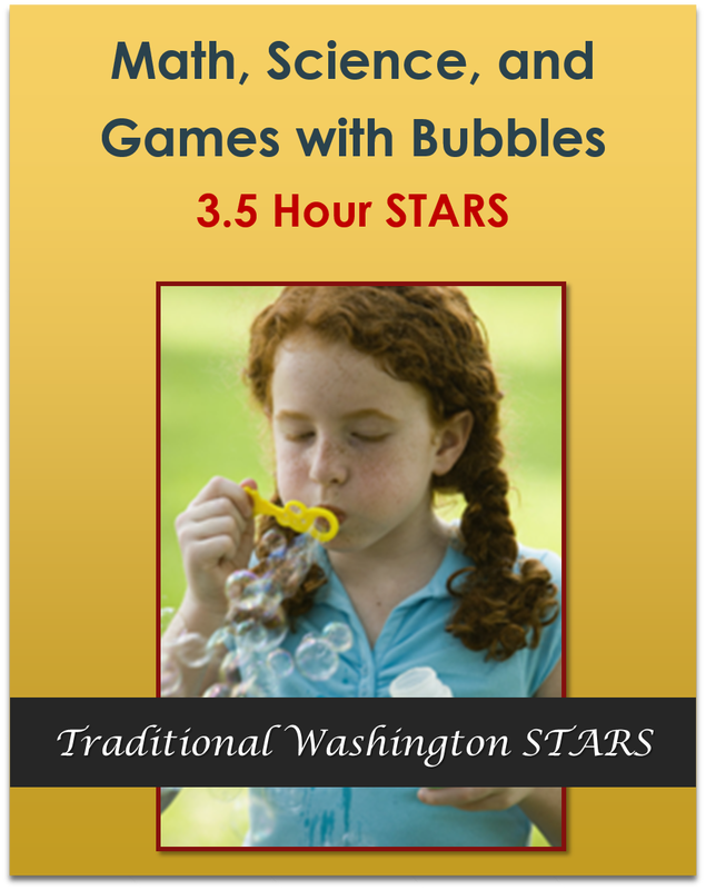 Math, Science, and Games with Bubbles 3.5 Hours  $33.25