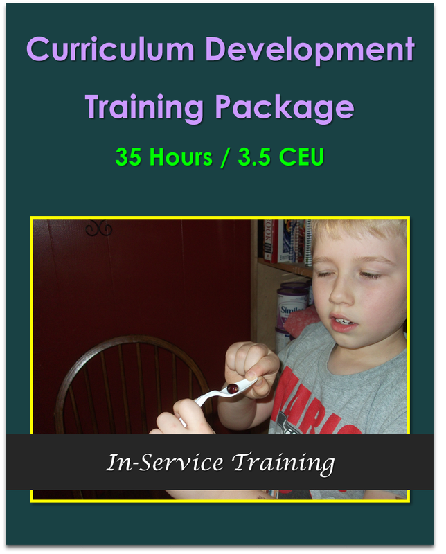 Curriculum Development Training Package 35 Hours   $225.00