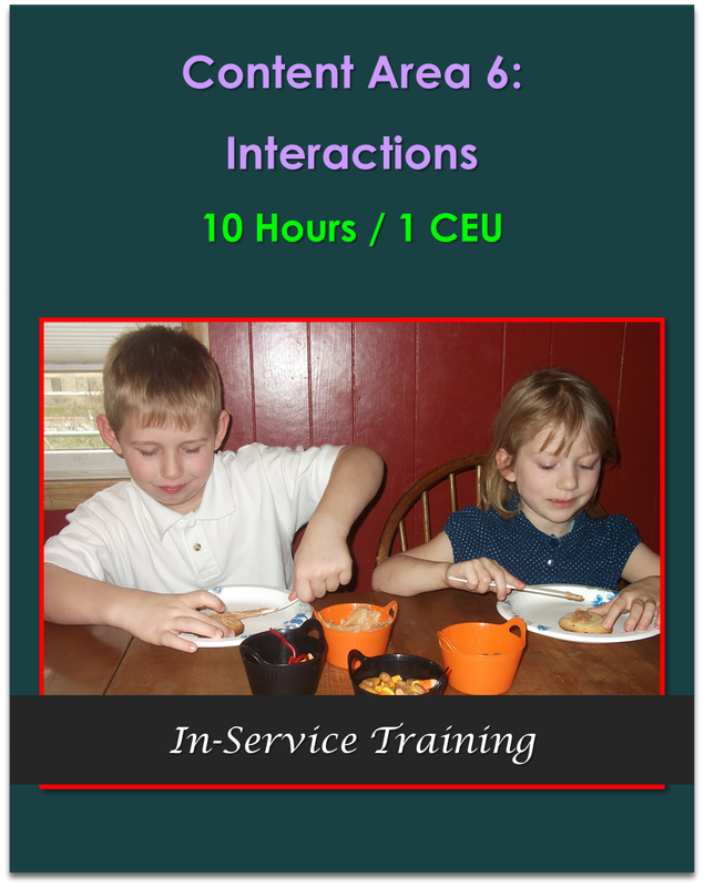 Content Area 6: Interactions (10 hours / 1 CEU)    $105.00