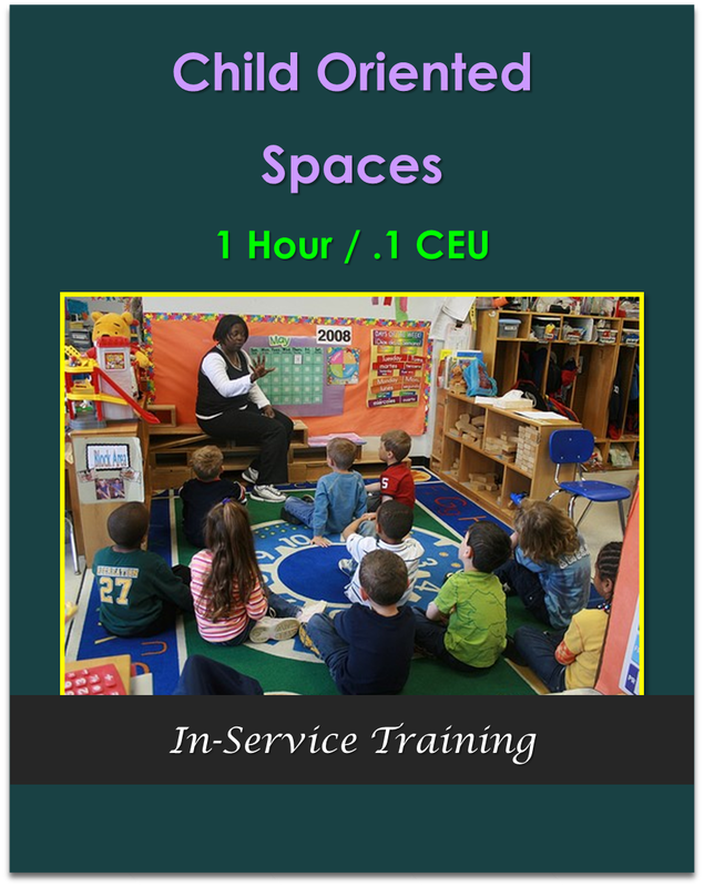 Child Oriented Spaces  (1 hour / .1 CEU) $10.50