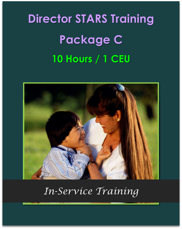 10 Hours Director STARS Package C  10 hours / 1 CEU  $105.00