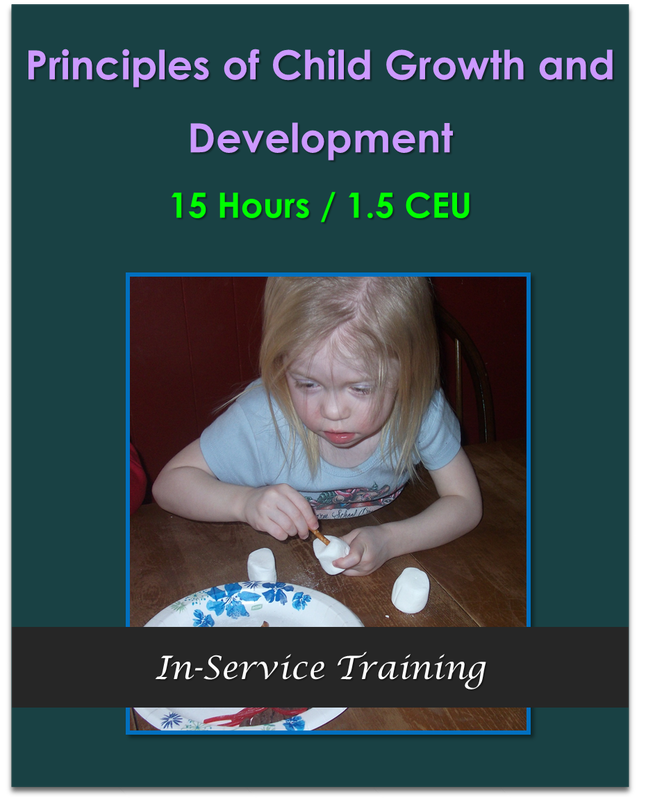 CDA Module 3: Principles of Child Growth and Development  $150.00