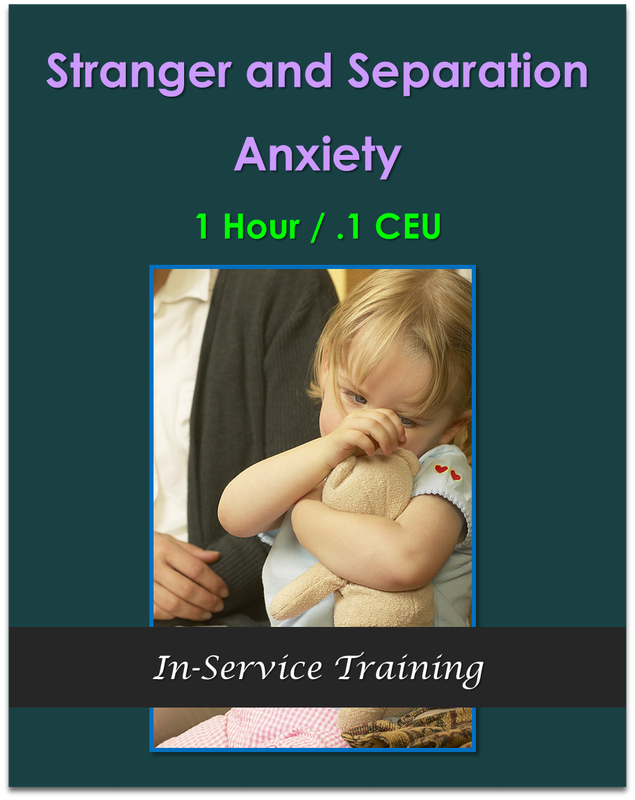 Stranger and Separation Anxiety (1 hour / .1 CEU)  $10.50