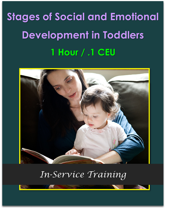Stages of Social and Emotional Development in Toddlers 1 hour / .1 CEU  $10.50