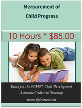 Measurement of Child Progress * 10 Hours * Reach for the STARS