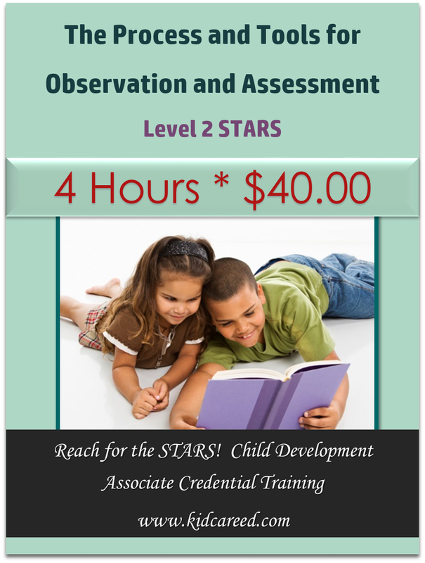 The Process and Tools for Observation and Assessment