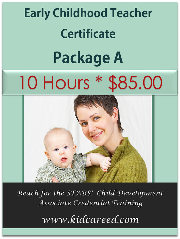 Early Childhood Teacher Certificate Package A * Reach for the STARS