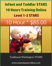 Infant and Toddler STARS 10 Hours Training Online