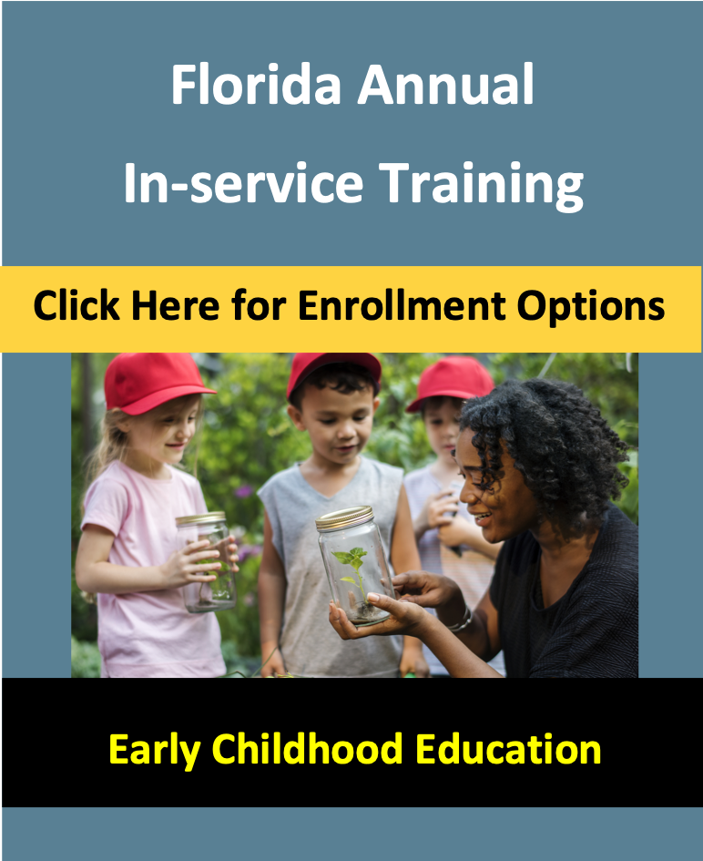 Florida Inservice Courses for Child Care