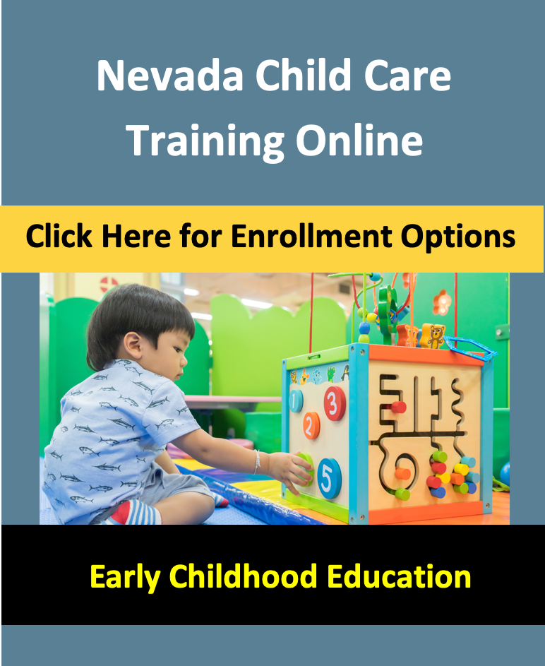 NV Childcare courses online