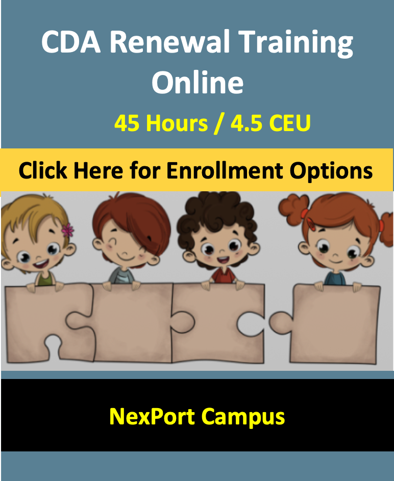 ID CDA Renewal Training