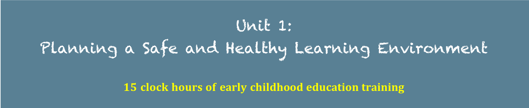 Texas Inservice Child Care Training